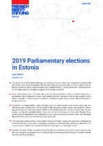 2019 parliamentary elections in Estonia