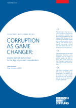 Corruption as game changer